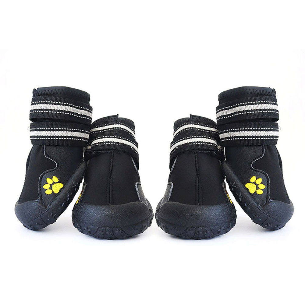 2 Pair Pet Non Slip Running Sneakers Outdoor Rain Boots Large Dog Shoes Waterpoof Boot Pets Accessories Hot Sale