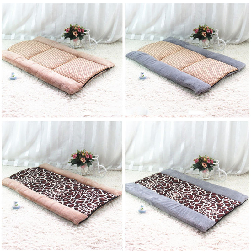2 in 1 Cat Dog Pet Mat Dog House Beds Pet Products Washable Warm Sleeping Bed Kennel