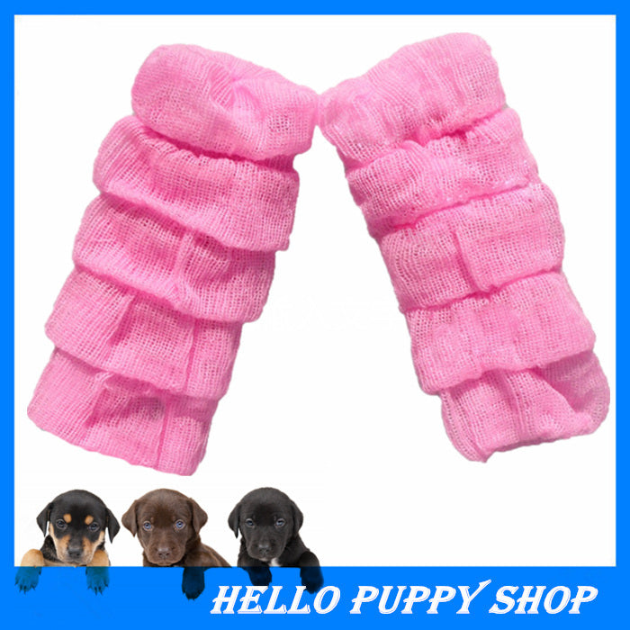 2015 Hot Sale Dog Socks 100% Cotton Dog Love Pet Shoes with Bottom Non-slippery Warm Socks for Dogs