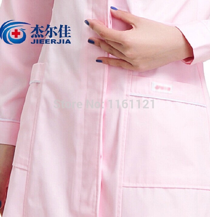 2015 Lab Coat Surgical Cap Comfortable Nurse Uniform Clothing for Work In Hospital , Beauty Salon Pharmacy House for Women Color