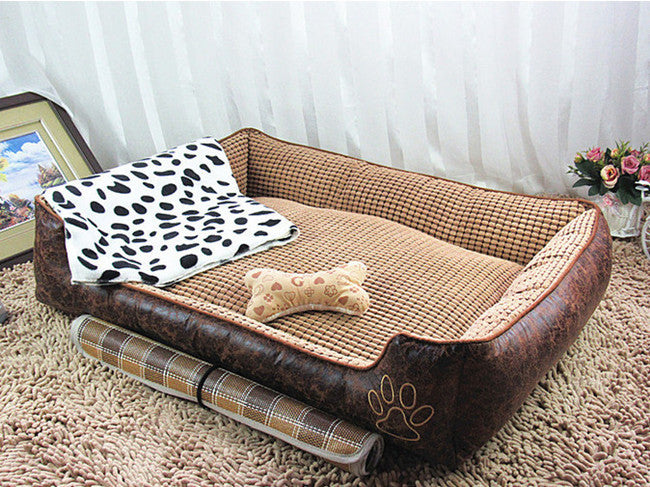 2015 New Corn Cloth With Soft Nap Dog Kennel Can Unpick And Wash Teddy Pet Supplies Pet Beds For Large Dog 15-1027010
