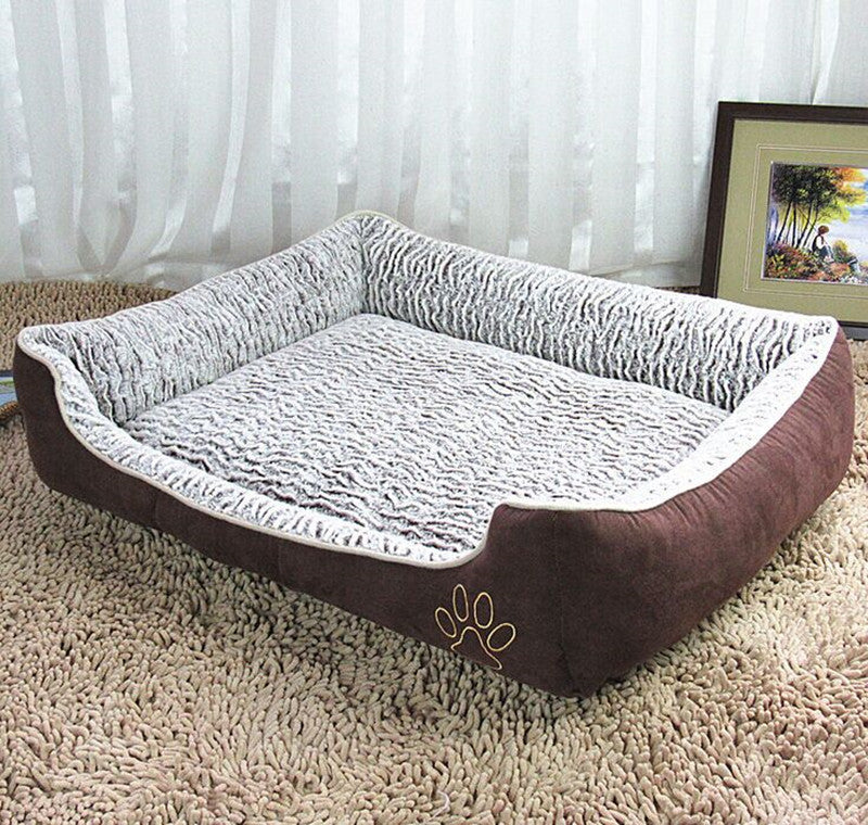 2015 New Rose Cloth With Soft Nap Dog Kennel Can Unpick And Wash Teddy Pet Supplies Pet Beds For Large Dog GP151027006