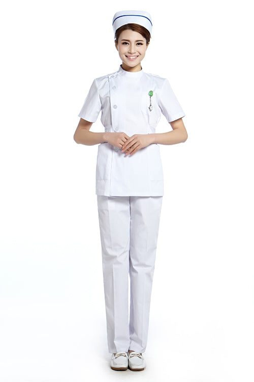 2015 OEM nurse uniform medical uniform hospital medical dress uniformes clinicos