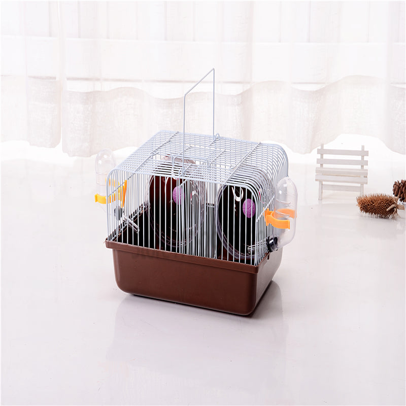 2016 Hamster House 11.11 Recommended Goods Free Transportation Hamster Child Care Cage Portable Outside Squirrel Pet Supplies