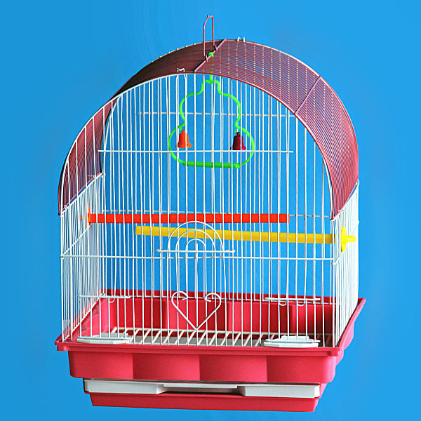 2016 New Big iron birds cages Large glass cage bird small animal cage pet cage