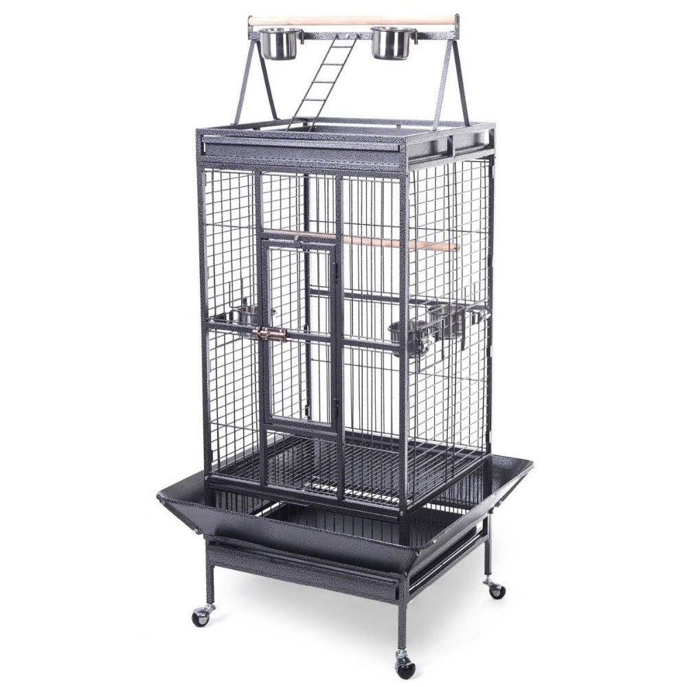 2016 Style Bird Cage Large Play Top Parrot Finch Cage Macaw Cockatoo Pet Supply PS5338New