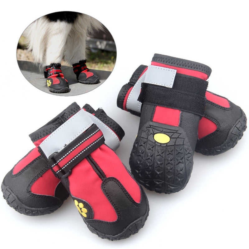 2017 New Arrival  dog shoes Anti-slip sport shoes zapatos para perros Size XS-4XL Hot Sale sapato para cachorro