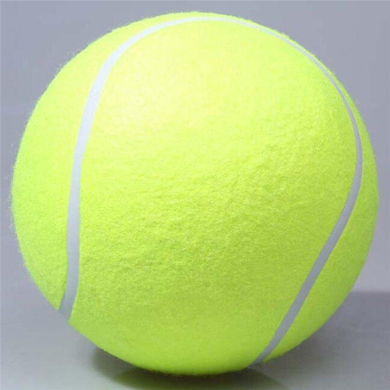 24cm Giant Tennis Ball For Dog Chew Toy Big Inflatable Tennis Ball