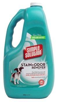 SIMPLE SOLUTION Stain Odor Remover for CATS DOGS (1 Gallon)
