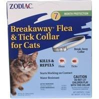 ZODIAC FLEA & TICK BREAKAWAY COLLAR FOR CATS - Size: 7 MONTH