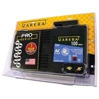 ZAREBA AC LOW IMPEDANCE ELECTRIC FENCE CHARGER - 100 MILE