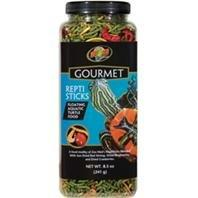 Zoo Med Laboratories 690095 8.5 oz. Gourmet Reptisticks Floating Aquatic Turtle Food