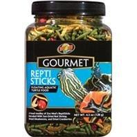 Zoo Med Laboratories 690094 4.5 oz. Gourmet Reptisticks Floating Aquatic Turtle Food
