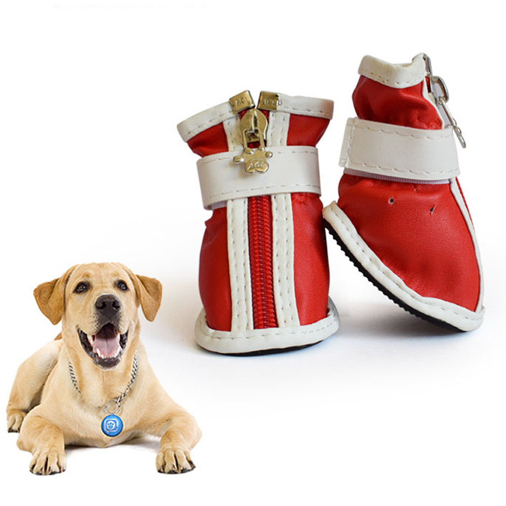 4 Pcs New Dog Shoes Waterproof Sport Shoes Puppy Dog Pet Shoes Size S M L XL XXL  Accessories Supplies Product F907