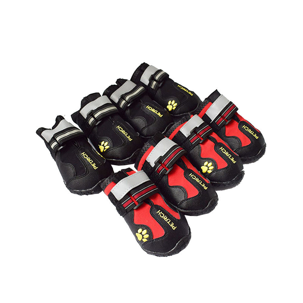 4 Pcs New Dog Shoes Waterproof Sport Shoes Puppy Dog Pet Shoes Size S M L XL XXL  Accessories Supplies Product F1023