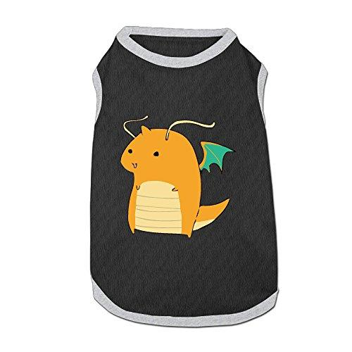 Cartoon Dragonite Pet Clothing Cat Clothes For Small Pet Fashion Pet Shirt 3 Size Small Medium Large