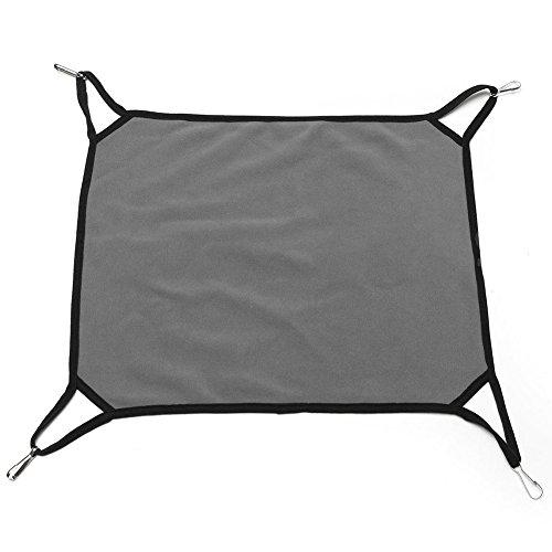TOOGOO(R) Pet Dog Puppy Cat Ferret Rabbit Hammock Soft Bed Comforter Hanging Cage House Dark Gray