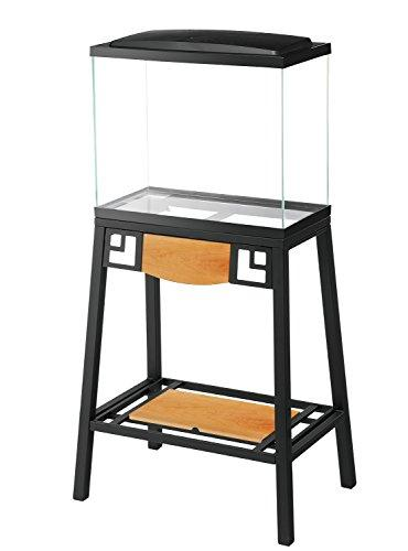 --Aqueon Forge Metal Aquarium Stand, 20 by 10-Inch, Black--