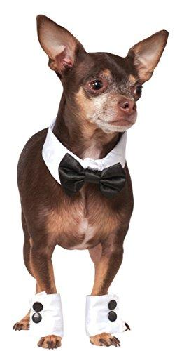 Rubie's Bowtie and Cuff Set Pet Accessories, Medium/Large