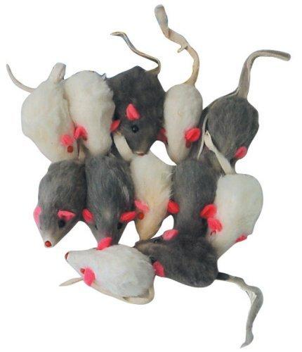 Rattling Fur Mice - 12 pack