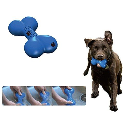 Yunt Pet Toy Freezer Bone-shaped Dog Treat and Cooling Chew Toy Perfect for Summer Play-time