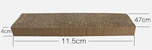 Zero Cat Scratching Pads Cat Scratcher Cardboard Toy With Free Catnip High Density Corrugated Paper Save Your Furniture MT-316