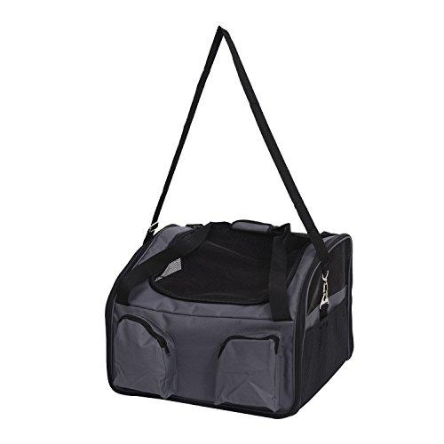 totoshop 20x16 Portable Dog Pet Bag Carrier Cat Car Seat Travel Handbag Kennel Crate