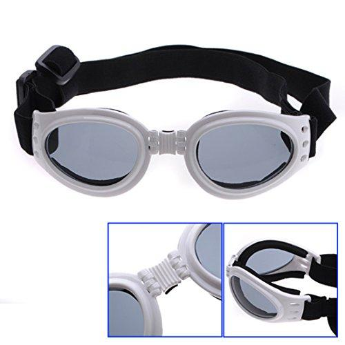 Corner Biz Pet Pet Dogs UV Sun Glasse Eye wear Protection Sunglasse Color White