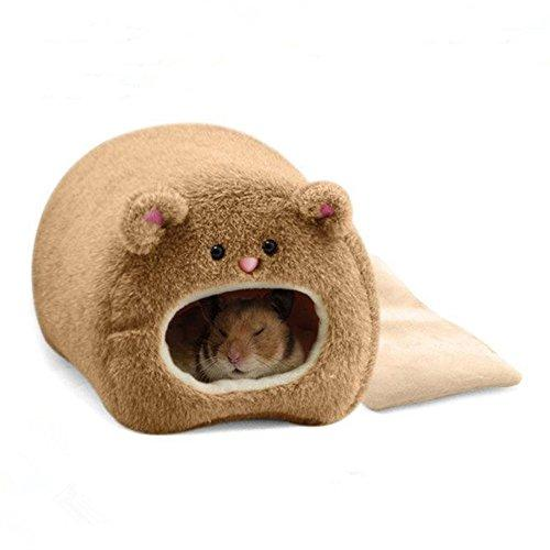 ZHWKY Hamster Winter Warm Cage Cute Hammock for Pet Ferret Rat Hamster Parrot Squirrel Hanging Bed House