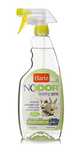 Hartz Nodor Fresh Scent Odor Eliminating Small Animal Bedding Litter Spray, 17 oz