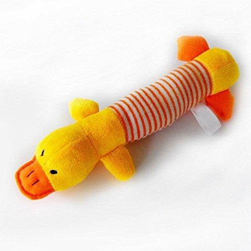 Zrong Pet Puppy Dog Chew Toys Squeaker Squeaky Plush Sound Pig Elephant Duck Dog Toys