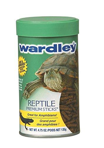 Wardley Premium Amphibian and Reptile Food Sticks - 4.75oz