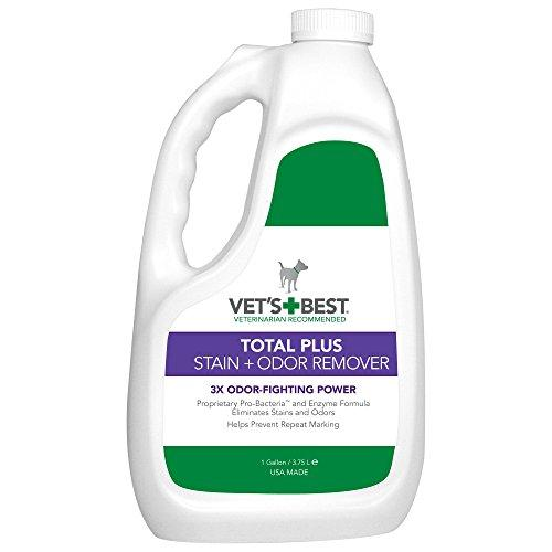 Vet's Best TOTAL PLUS Stain + Odor Remover - Gallon
