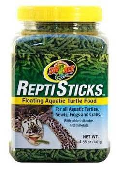 Zoo Med Reptisticks Turtle Food 5 Oz