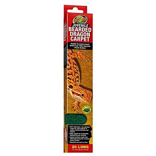 Zoo Med Juvenile Bearded Dragon Carpet Substrate, 12