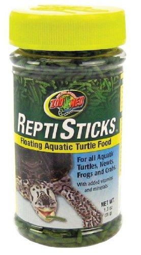 Zoo Med ReptiSticks Floating Aquatic Turtle Food, 1 Ounce