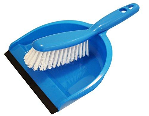 Travel Ez Dustpan and Brush Set, Cage Cleaner for Guinea Pigs, Cats, Hedgehogs, Hamsters, Chinchillas, Rabbits, Reptiles and Other Small Animals, Cleaning Tool Set for Animal Waste