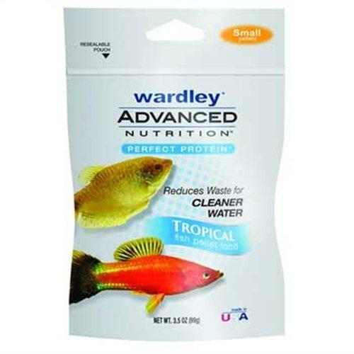 Wardley Advanced Nutrition Perfect Protein Small Tropical Fish Food Pellets - 3.5oz