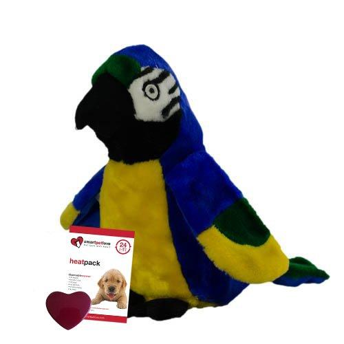 Smart Pet Love - Snuggle Bird - Behavioral Aid Toy (Blue and Gold Macaw)