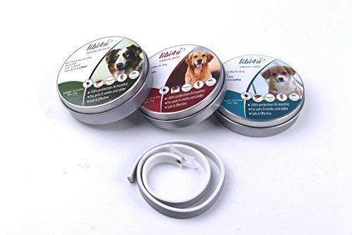 libi4u Flea and tick collars, protect and prevention, by