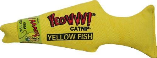 Yeowww! Catnip Toy, Yellow Fish