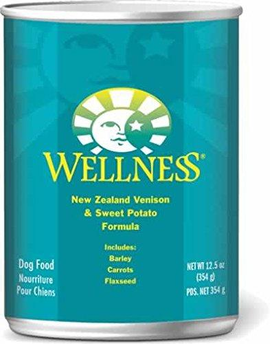 Wellness Complete Health Venison & Sweet Potato Natural Wet Canned Dog Food, 12.5-Ounce Can (Pack of 12)