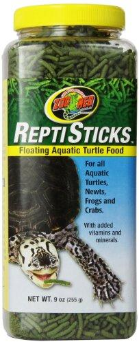 Zoo Med ReptiSticks Floating Aquatic Turtle Food, 9-Ounce