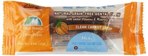 Zuke's Z-Bones Dog Dental Chews, Clean Carrot Crisp, Mini
