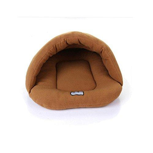 ☀☀☀Soft Bed Smdoxi Pet Sleeping Bag Mat Pad☀☀☀Have A Good Dream (Brown, L)