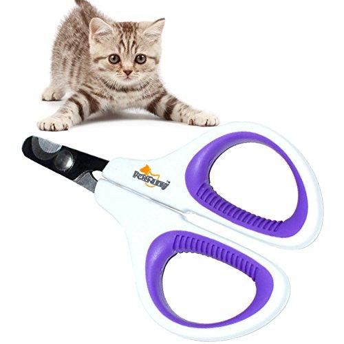 Pet Nail Clippers Small Animal, Dog & Cat Animal Nail Clippers Stainless Steel Blade No-slipping Pet Claws Nails Trimmer Scissors for Birds,Kitten,Rabbit Bunny, Puppy