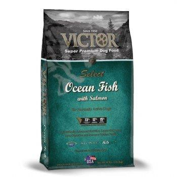 --Victor Ocean Fish Formula with Alaskan Salmon Dry Dog Food, 40-Pound--