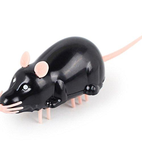 --YJYdada Pet Small Fake Animal Mouse Trick Toy Electric Animal Fun Toys--