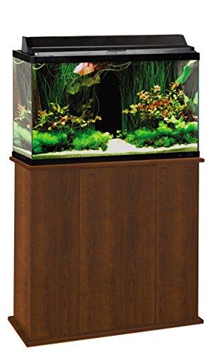 Aquatic Fundamentals 36291-68-AMZ 29 Gallon Upright Aquarium Stand, Serene Cherry