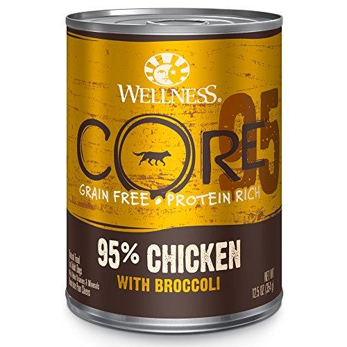 Wellness Natural Pet Food 7994 Can CORE 95-Percent Natural Wet Grain Free Canned Dog Food, 12.5